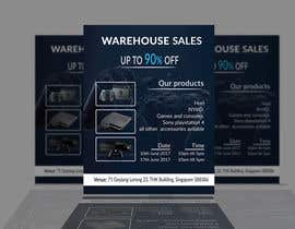 #35 for Design a Flyer for Video Games Warehouse Sales. by creativejubaer