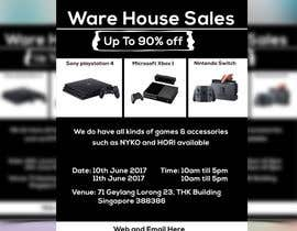 #37 for Design a Flyer for Video Games Warehouse Sales. by nazmulgraphics14