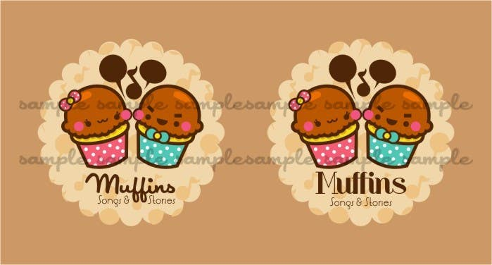 Contest Entry #11 for Logo Design for Muffin Songs & Stories