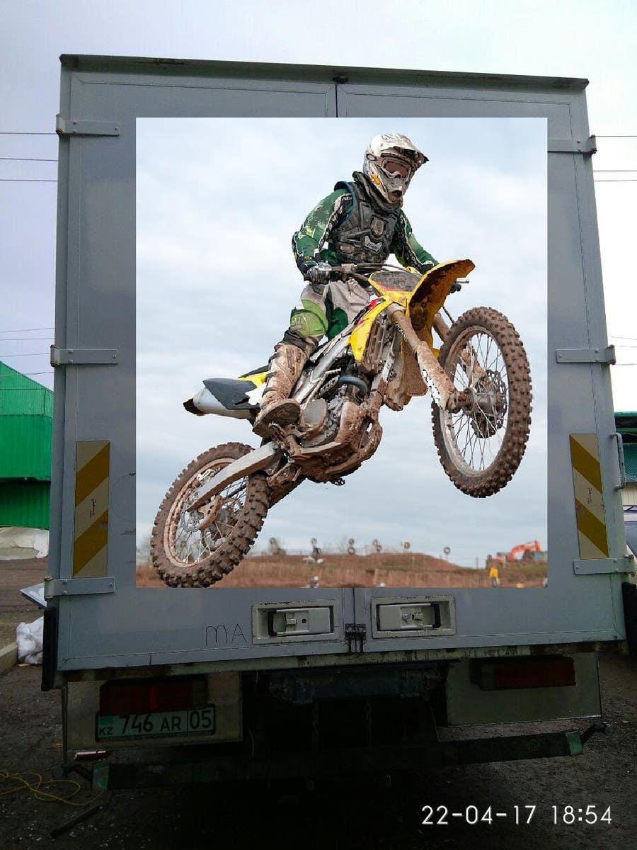 Proposition n°2 du concours Разработка оформления для грузовика мотокроссменов