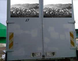 nº 14 pour Разработка оформления для грузовика мотокроссменов par fb56f100953e3d8