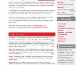 #61 para HTML Email for Save the Children Australia de kosmografic