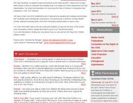 #58 para HTML Email for Save the Children Australia de kosmografic