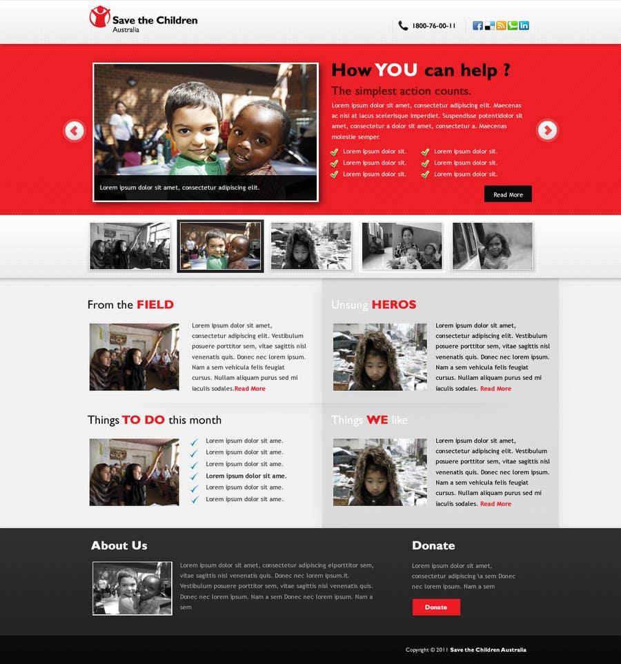 Participación en el concurso Nro.                                        78                                      para                                         HTML Email for Save the Children Australia