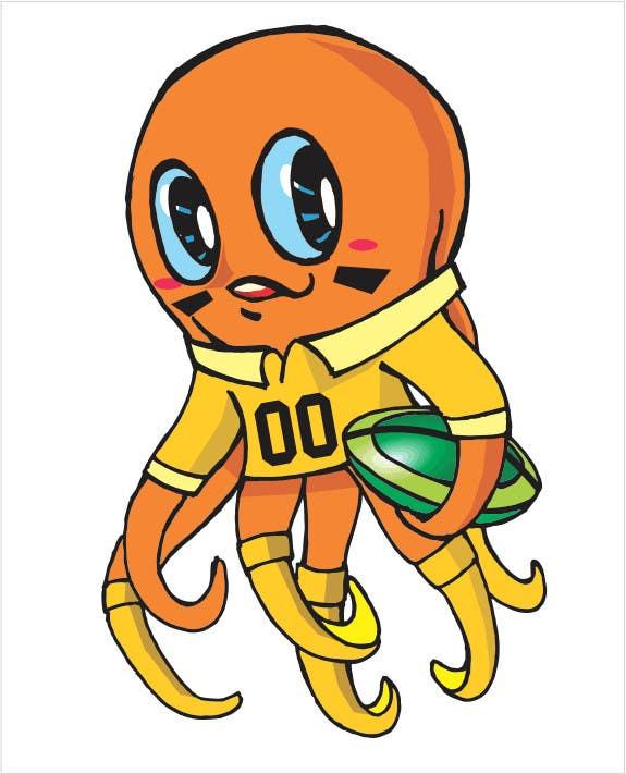 Proposition n°19 du concours Design an octopus Logo