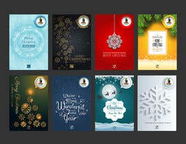 #15 for Develop 16 new magical Christmas Cards with snowflakes by ghielzact