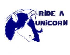 nº 5 pour Logo for Ride A Unicorn par reyeslydia87