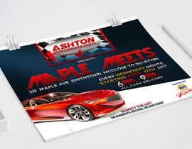 Nro 1 kilpailuun Design a Flyer for car show käyttäjältä AngyT