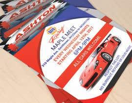 Nro 14 kilpailuun Design a Flyer for car show käyttäjältä Helal420
