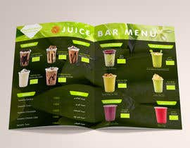 #9 for Design A juice bar menu. Arabic Understanding required by aes57974ae63cfd9