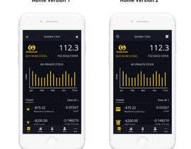 nº 8 pour 7.500 EUR - Design 100 App Mockups for Banking APP (50 Iphone and 50 Android) par livelypixels