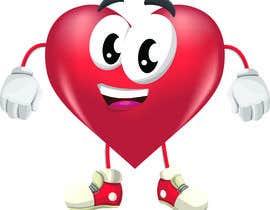 nº 2 pour Heart Mascot par Jhoandri