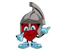 nº 4 pour Heart Mascot par dedesubeng
