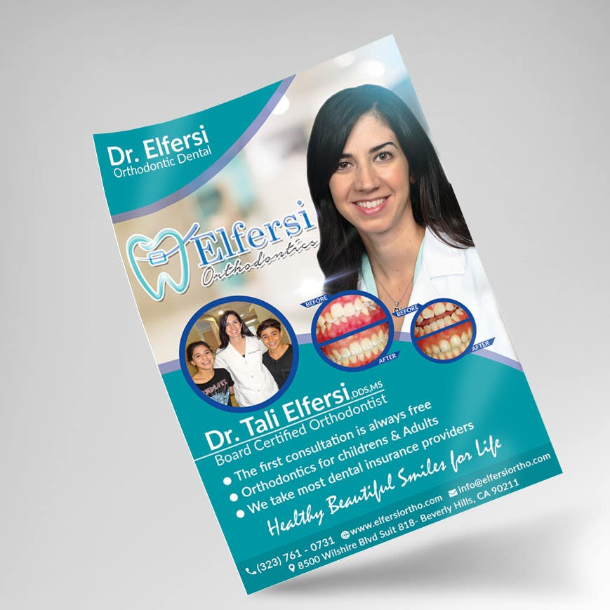 Proposition n°27 du concours Design an Advertisement for my orthodontic dental practice
