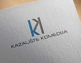 #84 for Logo Design contest Theatre Komedija, Zagreb, Croatia by noyonhossain017