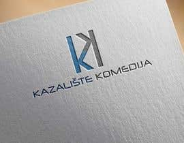 #87 for Logo Design contest Theatre Komedija, Zagreb, Croatia by noyonhossain017