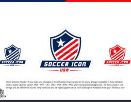 #359 for Design a Logo - Soccer Icon USA by zuhaibamarkhand