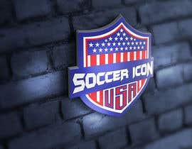 Nro 387 kilpailuun Design a Logo - Soccer Icon USA käyttäjältä muhammadmubeenaf