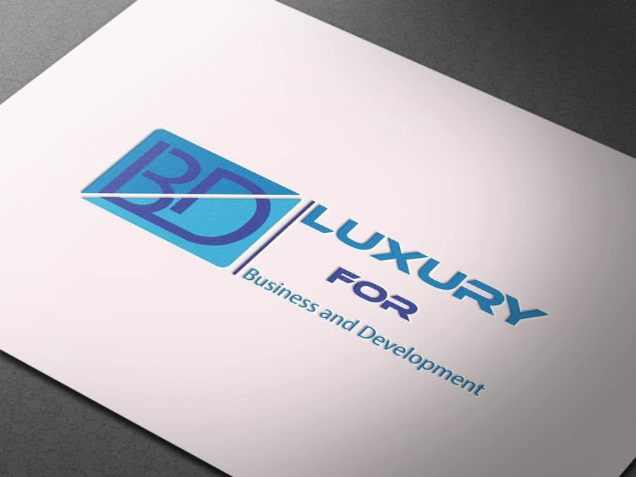 Proposition n°312 du concours Logo for ( Luxury for Business and Development  )