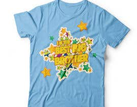 #70 for Design kids' t-shirt with two variations (boy/girl) using our brand colors and font by DAISYMURGA