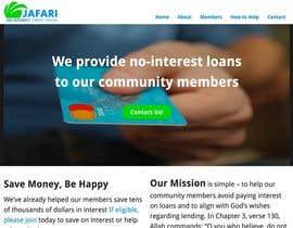 Nro 2 kilpailuun NonProfit Credit Union Website käyttäjältä cmontgomery2799