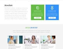 nº 5 pour NonProfit Credit Union Website par Poornah
