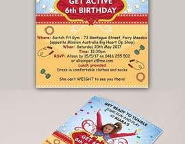 #38 for Birthday Invitation by satishandsurabhi
