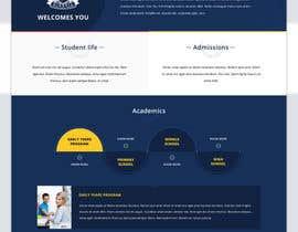 nº 24 pour Design a Website Mockup for International School par greenarrowinfo