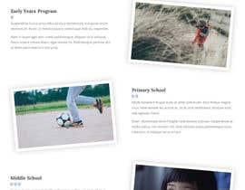 nº 13 pour Design a Website Mockup for International School par valdisbarrett