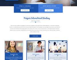nº 17 pour Design a Website Mockup for International School par Webicules