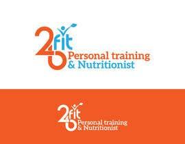 nº 19 pour 2BFit Personal training & nutritionist logo design par aliakamakky