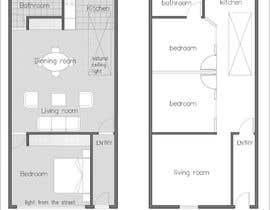#18 for Interior design using floorplan by marcosnova