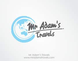 nº 27 pour Design a logo for a personal travel blog - Mr Adam's Travels par reyryu19