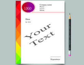 nº 14 pour Create letterhead  in Word or Google Docs par NirobAlim