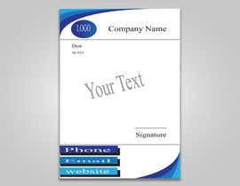 #16 for Create letterhead  in Word or Google Docs by NirobAlim