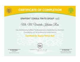 nº 5 pour Certificate Template par jhonfrie
