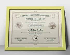 Nro 7 kilpailuun Certificate Template käyttäjältä Sabatiel