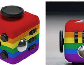 #5 for TURN THIS RAINBOW - fidget cube photos by imamkhan642