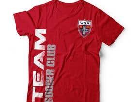 Nro 37 kilpailuun Design a T-Shirt for Soccer Club käyttäjältä DAISYMURGA