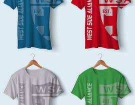 #69 for Design a T-Shirt for Soccer Club by KallasDesign