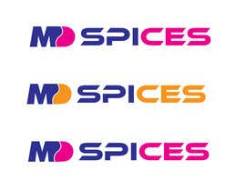 "nº 46 pour LOGO FOR INDIAN SPICE SHOP ""MD SPICES"" par AleeStudio"