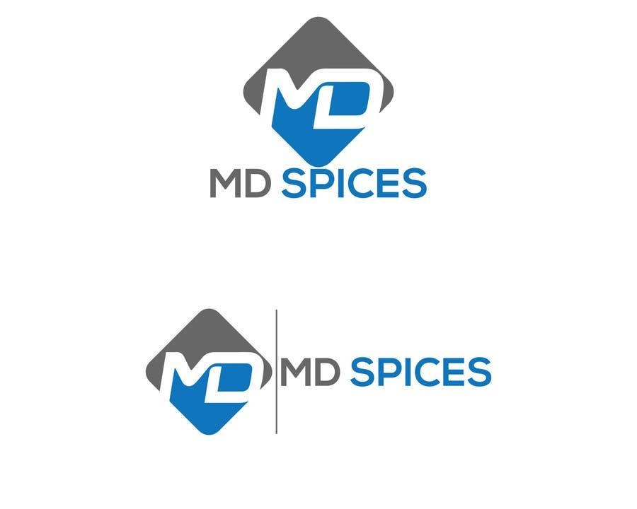 "Proposition n°43 du concours LOGO FOR INDIAN SPICE SHOP ""MD SPICES"""