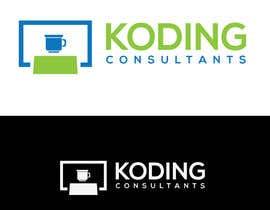 Nro 306 kilpailuun Koding Consultants Logo käyttäjältä DibakarFreelanc