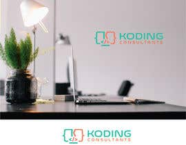 nº 303 pour Koding Consultants Logo par OnePerfection