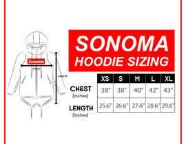 nº 7 pour Design Clothing Size Chart par fadhilsalimi