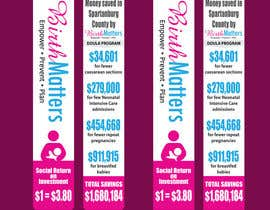 #49 for Design a Brochure - BirthMatters ROI Bookmark by jrayhan