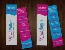 nº 32 pour Design a Brochure - BirthMatters ROI Bookmark par davidxxvi