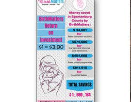 #45 for Design a Brochure - BirthMatters ROI Bookmark by sifatmirza1311