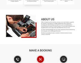 nº 33 pour Design a Website Mockup par syrwebdevelopmen