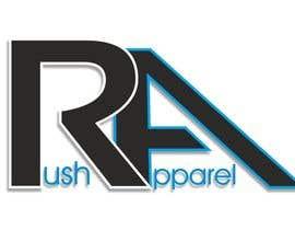 nº 6 pour Brand Logo for Rush Apparel par MagdaDm